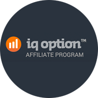 IQ Option Affiliate Logo