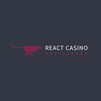 ReactCasino Affiliates Logo
