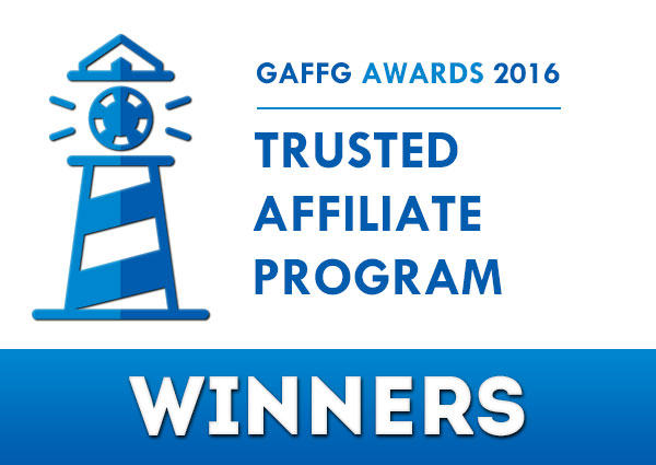trusted affiliate program 2016 awards winners