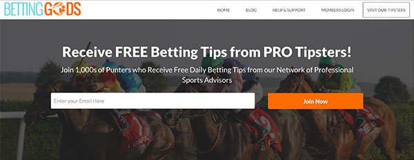 betting gods tipster service
