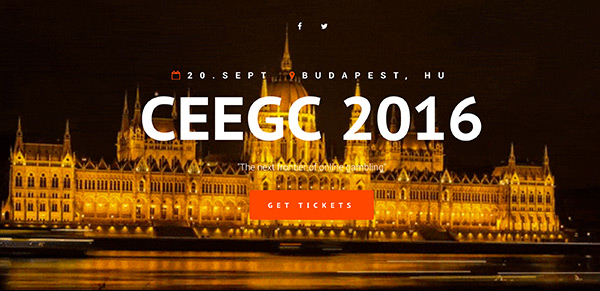 CEEGC conference Budapest 2016