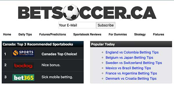 betsoccer website launches just in time for World Cup 2018