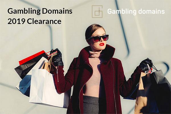 Gambling Domains 2019 sale