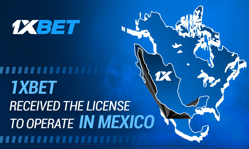 1xBet gets igaming license to operate in Mexico