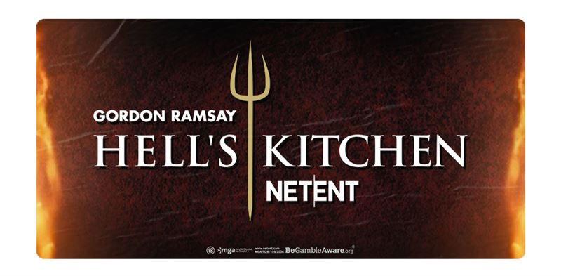 Netent Hell's Kitchen slot Gordon Ramsay