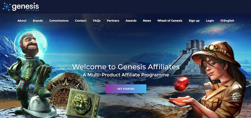 Genesis Global limited license suspended by UKGC