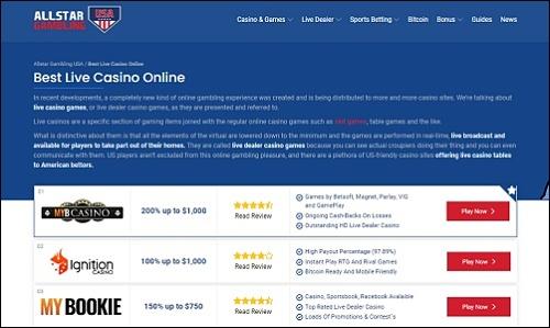 Allstar Gambling