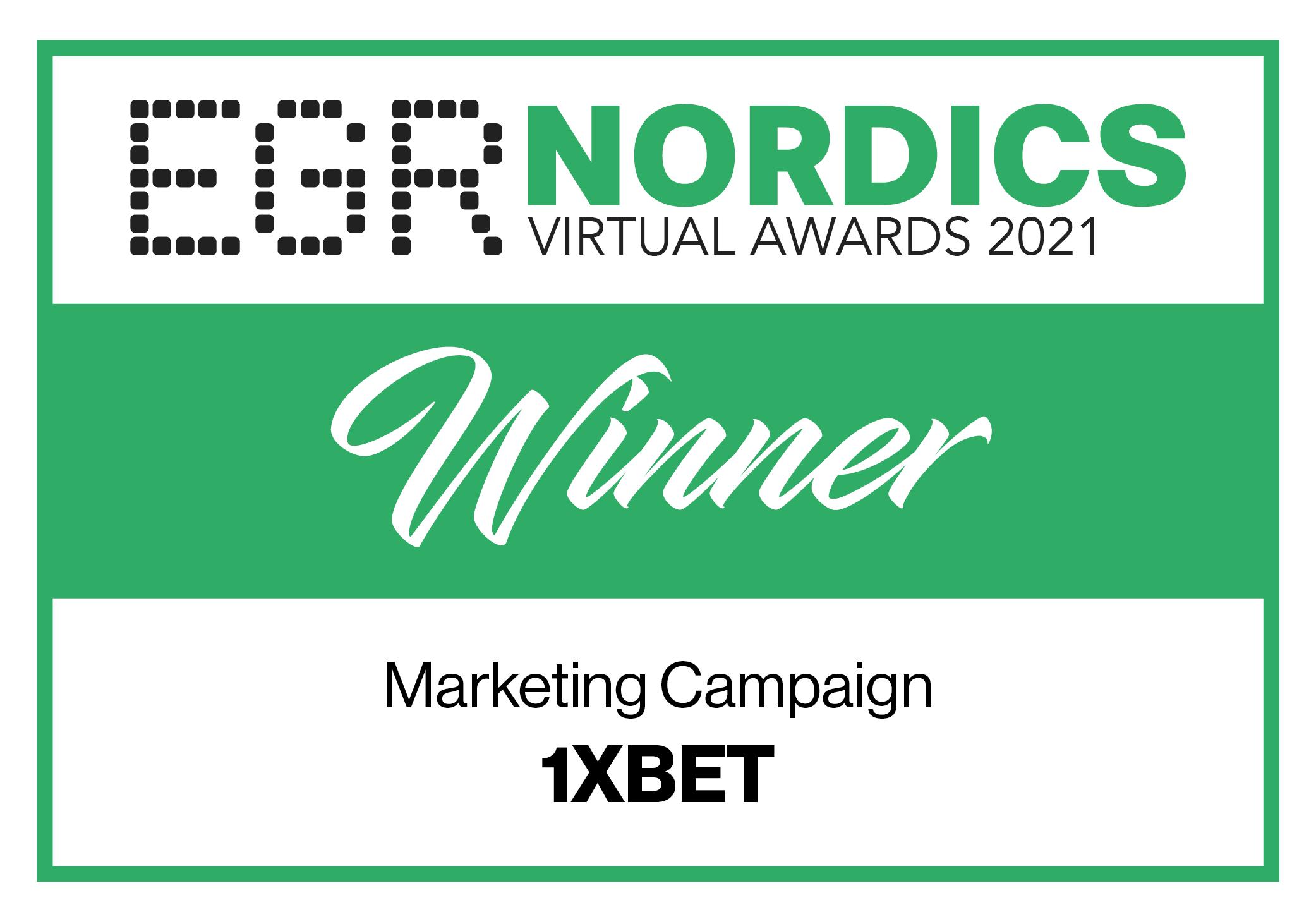 EGR Nordics Awards Cover