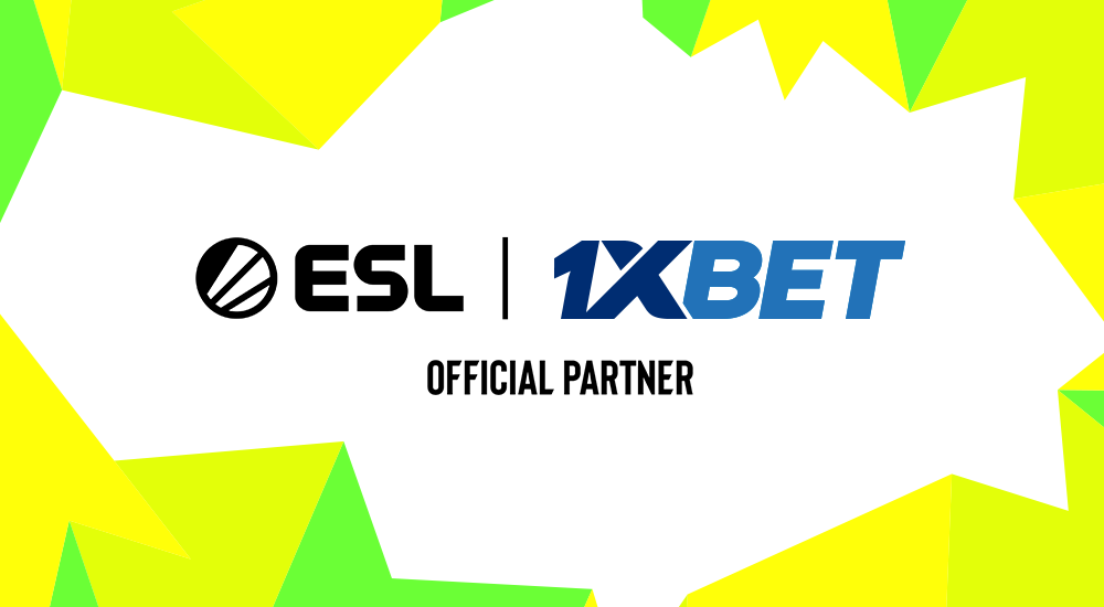 ESL and 1xBet Partnership Announcement