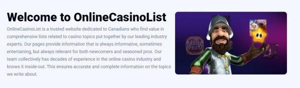 Casino listing reviews