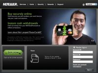 neteller website