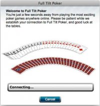 fulltiltpoker not connecting