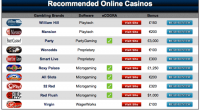 casinorecommender screenshot
