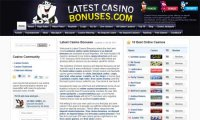 latestcasinobonuses screenshot