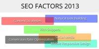 seo factors 2013