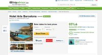 trip advisor hotel arts barcelona