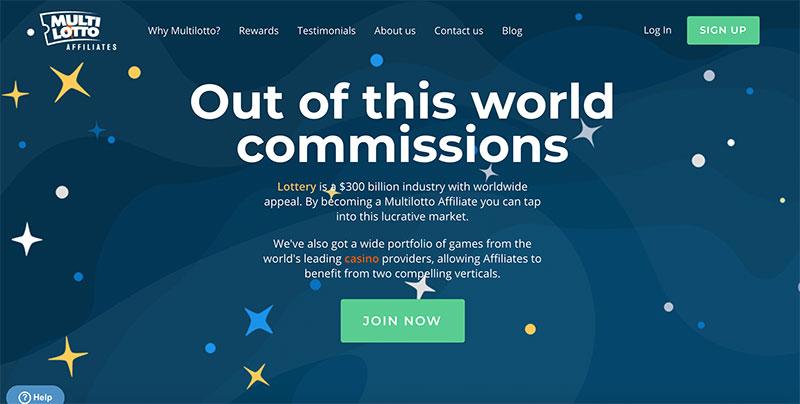 Multilotto Affiliates best lottery program
