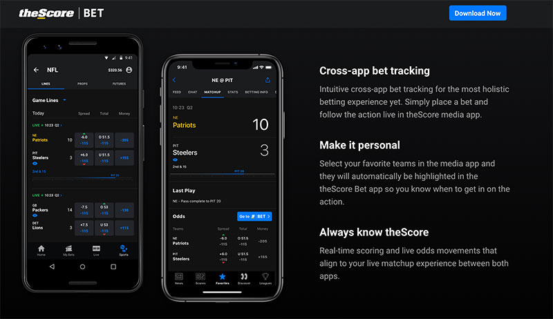 theScore BET app